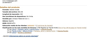 Top 50 ventas Amazon a 1 de Abril